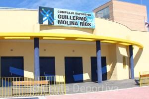 Fachada del Complejo Deportivo 'Guillermo Molina', donde se ubican las oficinas del ICD