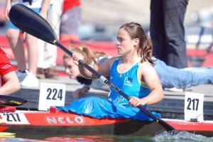 Isabel Contreras llega en un buen estado de forma al Campeonato del Mundo de Piragüismo en aguas tranquilas