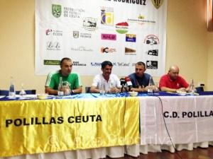 Un momento de la rueda de prensa celebrada en el Parador La Muralla