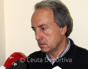 El entrenador canario está convencido de que la AD Ceuta FC volverá a luchar por el ascenso
