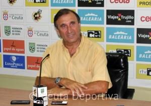 José Antonio Asián no se fía del CD Gerena, pese a su condición de novato y las dos últimas derrotas