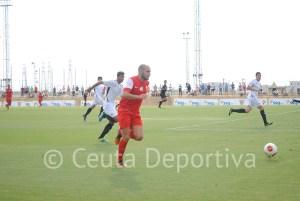 La AD Ceuta FC, con un Prieto enrachado, buscará el tercer triunfo seguido fuera de casa