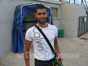 José Carlos Segura aporta trabajo y eficacia a la defensa de la AD Ceuta FC