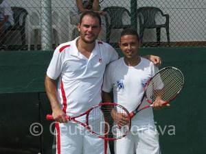 Rafael Amador y Cristian Molina, los finalistas en absoluto masculino