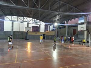 El equipo cadete, que se llamará IES Siete Colinas-CBJ, empezó los entrenos en pista para preparar su estreno en la Copa Andalucía B