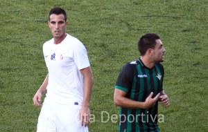 El cordobés Andrés Salas, durante el partido del pasado domingo ante el Real Betis 'B'
