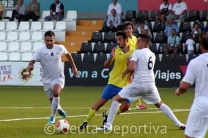Andrés Salas podría empezar en el banquillo si Asián apuesta por un 'once' más ofensivo