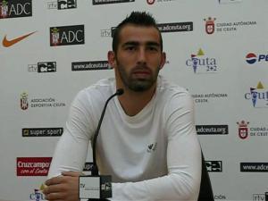 Fran Amado militó tres temporadas en la desaparecida AD Ceuta