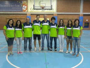 Técnicos del Club Baloncesto Ceuta San Daniel