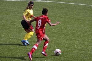 Nuria, expulsada ante el CD Santa Teresa, se pierde la quinta jornada