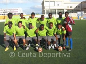 África Star, uno de los equipos del CETI, disputará la final del I Torneo de convivencia de fútbol 7