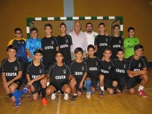 Selección infantil de fútbol sala