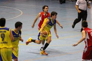 Juanjo Delgado, uno de los jugadores que consiguió el ascenso la temporada pasada