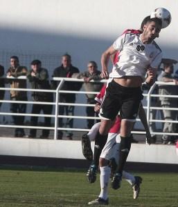 El delantero malagueño jugó el curso pasado 10 partidos en el Atlético de Ceuta y marcó cinco goles