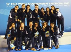 Las 'guerreras' del agua consiguieron la plata en Londres y el oro en Barcelona