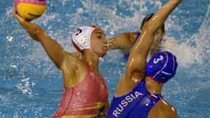 Anni Espar marcó un gol ante Rusia en el debut de España en la Liga Mundial 2013