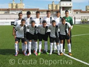 El Ceutí presentó el mismo 'once' que jugó ante el San José cuarenta y ocho horas antes