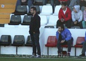 Mere, entrenador del Conil CF, ha reconocido la superioridad del Ceuta