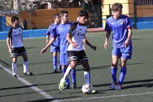 Yunes, capitán del Ceutí de Liga Nacional Juvenil, ya se enfrentó el año pasado a Islas Baleares en Melilla