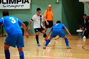 Rubén cree que el Ceutí FS debe seguir partido a partido a pesar de su buena situación en la tabla