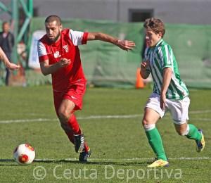 El Ceuta dio un golpe de efecto en Sevilla donde venció al Betis B por 0-1