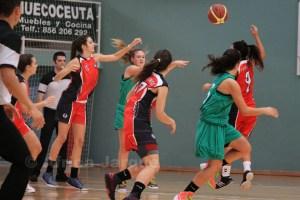 Las ceutíes jugaron a un buen nivel ante el gran dominador de la Copa Andalucía A