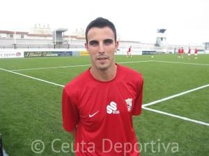 Andrés Salas llegó al Ceuta procedente del CD Ronda y sólo permaneció dos meses