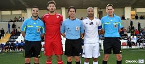 El jerezano Sánchez Rincón pitará el Coria CF - AD Ceuta FC del próximo sábado