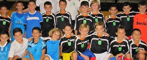 Un total de 16 jugadores de la categoría benjamín empezaron a preparar el Nacional