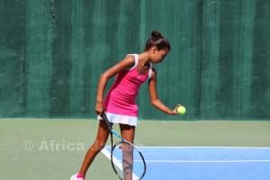 La jugadora infantil Liriah Mohamed comenzó con victoria en la competición junior
