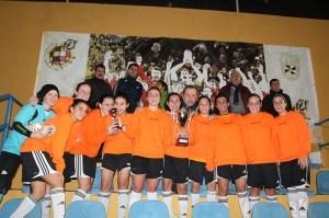 El Luis de Camoens consiguió el doblete al ganar la Liga y la Copa Federación