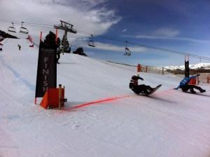 El rider ceutí superó en la misma línea de meta a Eguibar, séptimo en los Juegos de Sochi