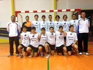 El Ceutí figura con 5 puntos en la liga gaditana cadete tras su victoria ante el Gades Cajasol B