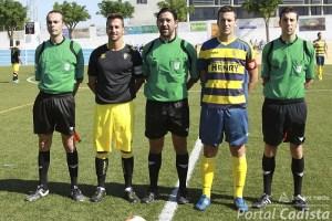 Rojas Domínguez pitó esta temporada tres partidos del grupo 10, el primero el Conil - Cádiz B de la 5ª jornada