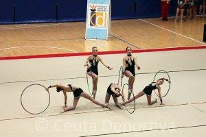 El XI Torneo de Gimnasia Rítmica de Ceuta reunirá a gimnastas de Ceuta y la Península