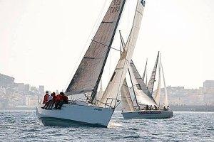Imagen de una de las regatas del Interclubs celebrada en Ceuta