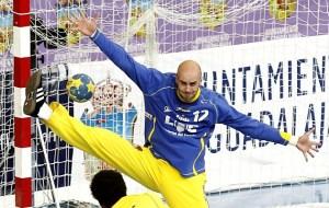 El portero mogureño José Manuel Sierra ganó el Mundial de balonmano el año pasado. Foto: Marca