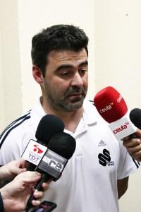 José Carlos Jiménez 'Mane' fue el preparador físico del Atlético de Ceuta la pasada temporada