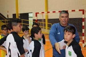 Francisco Segado 'Pacote' destaca que la mitad de sus jugadores son alevines de primer año