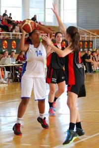 Ceuta no tuvo opción en los primeros cuatro partidos en el Nacional infantil de baloncesto