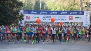 Unos 22.500 corredores se dieron cita en la XIV Media Maratón de Madrid. Foto: Madridpress.com