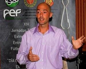 José Manuel Pardo Martínez ya le pitó al Ceutí la temporada pasada en Jerez