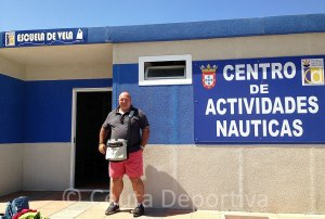 Nicola Cecchi sigue cuatro años más al frente de la Federación de Vela de Ceuta