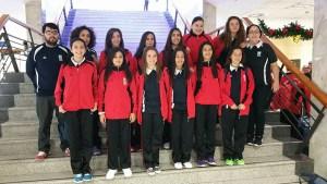 Selección infantil femenina