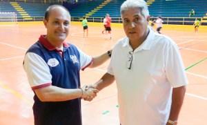 Rafael Peña y Juanma López, en una imagen de archivo