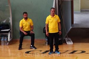 Said Mohamed, junto a Rachid, en su etapa en la UA Ceutí
