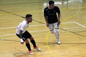 El jugador unionista, durante el partido del pasado sábado ante el Soliss Talavera