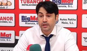 Marlon Velasco, entrenador del Noia