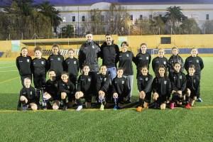 Selección sub-12 femenina / Foto: FFCE