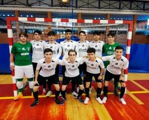 Formación del Deportivo Ceutí en San Pedro de Alcántara